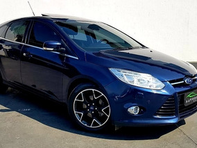 Focus Hatch Titanium Plus Flex Automátic Top Com Teto Solar