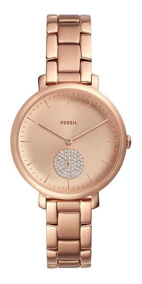 Relógio Fossil Feminino Jacqueline Rosé - Es4438/1jn