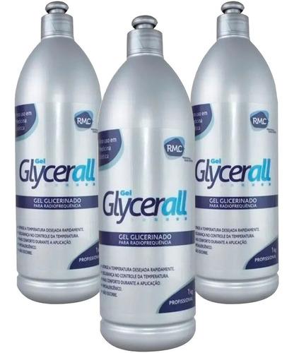 Glycerall Rmc - Gel Glicerinado - Kit Com 3 Litros