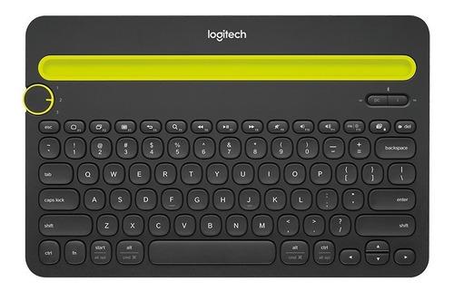 Teclado Bluetooth Logitech K480 Nuevo  Negro
