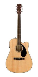Cd-60sce Nat Fender Guitarra Electroacustica