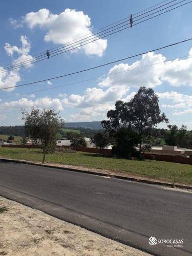 Imagem 1 de 4 de Terreno À Venda, 1000 M² Por R$ 160.000,00 - Condomínio Village Ipanema Ii - Araçoiaba Da Serra/sp - Te1080