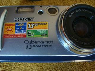 Camara Digital Sony Dsc-p30 1.3 Mp.usada,excelente Estado
