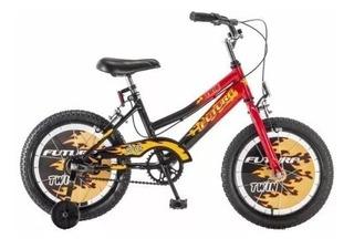 Bicicleta Futura Bmx Nene Chicos 4050 Rodado 16 Rueditas