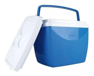 Caixa Térmica Cooler 26 Litros Com Alça E Porta Copos - Mor