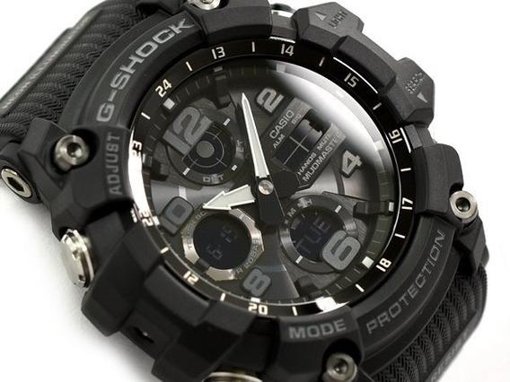 Relógio Casio G-shock Mudmaster Gsg100-1a Preto Novo Na Lata