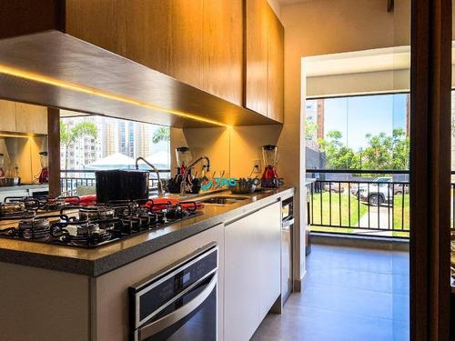 Imagem 1 de 30 de Apartamento Com 3 Dormitórios À Venda, 98 M² Por R$ 960.000,00 - Taquaral - Campinas/sp - Ap2386