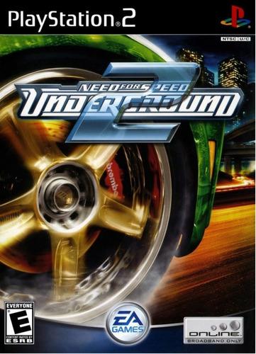 Juegos Para Ps2 Saga Need For Speed 9 Juegos 9 Discos Mercado Libre