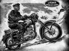 Jawa 1948, Doc. Jawa Placa Cinza,em Dia, Pront. Transferir