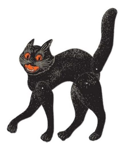 Imagen 1 de 1 de Suministros Beistle Party, 20½  , Negro Naranja Blanco