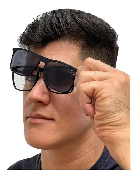 Armação De Oculos Para Grau Clip On Osklo Masculino 019