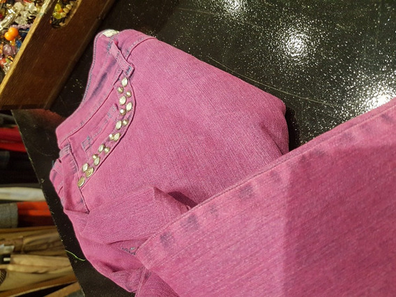 Pantalon Calyx Con Apliques T M