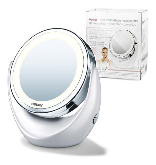 Espejo Maquillaje C/luz Beurer Con Aumento Bs49 Profesional