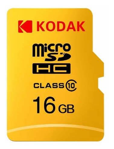 Cartão De Memória 16g Classe 10 Micro Sd Kodak-tf U1