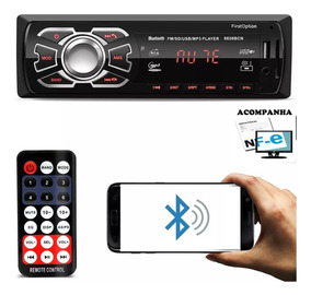 Radio Automotivo Sem Toca Cd Mp3 Player Bluetooth First Usb