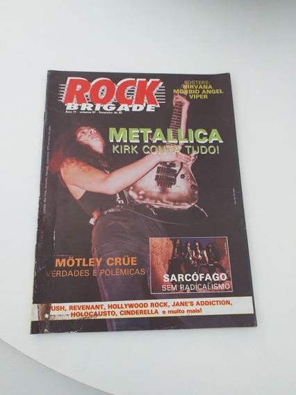 Revista Rock Brigade Nº67 (frete 9;00) Poster