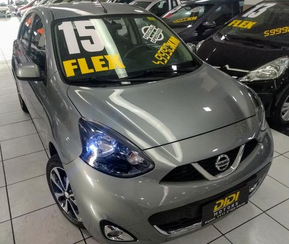 Nissan-march March 1.6 16v Sl (flex) 2015 49.900km