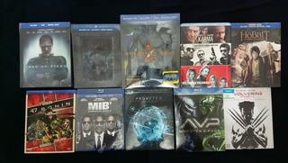 Lote De Películas Originales Blu-ray 3 X $200