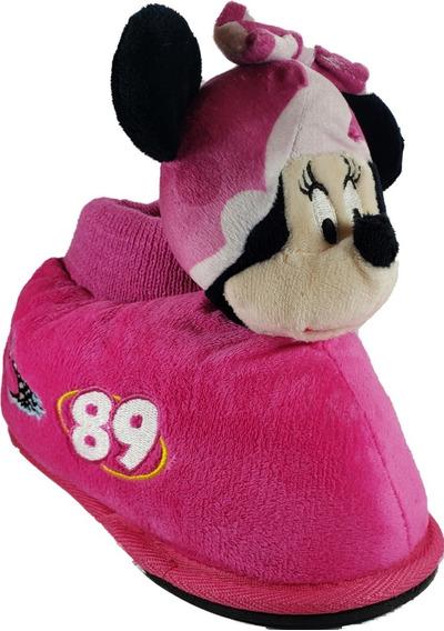 Pantuflas Addnice Disney Minnie Original Niñas Megacaseros