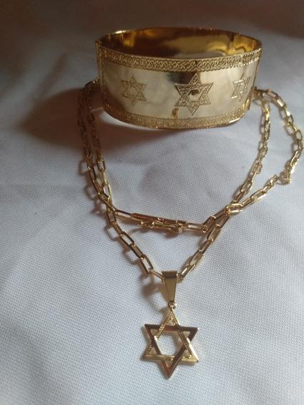 Peças Folheadas Em Ouro 18kBanhados Em Prata 925
