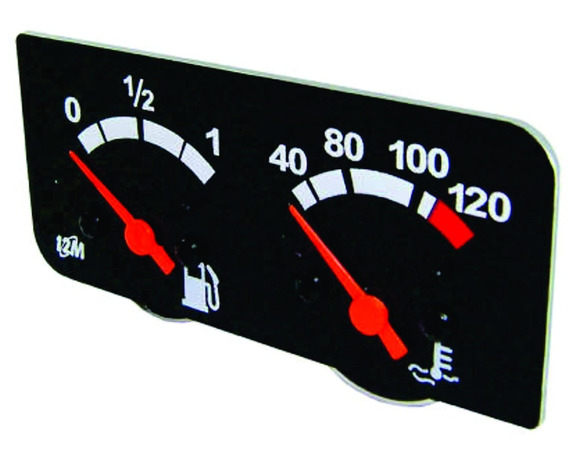 Relogio Indicador De Combustivel Scania Serie 4 1109997
