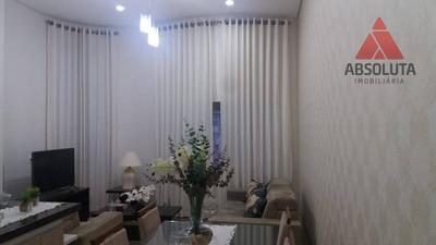 Casa Com 2 Dormitórios À Venda, 112 M² Por R$ 345.000 - Jardim Boer I - Americana/sp - Ca2519