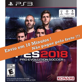 Pes 18 Ps3 Psn Pro Evolution Soccer 2018 + Neymar Psg