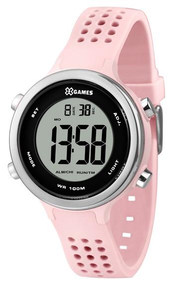 Relógio Xgames Feminino Digital Xfppd069 Bxrx Rosa