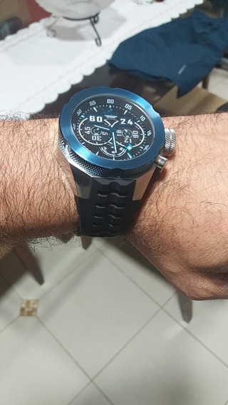 Relógio Invicta Xl Máquina Suiça 58mm. Cronógrafo Lindo!!!