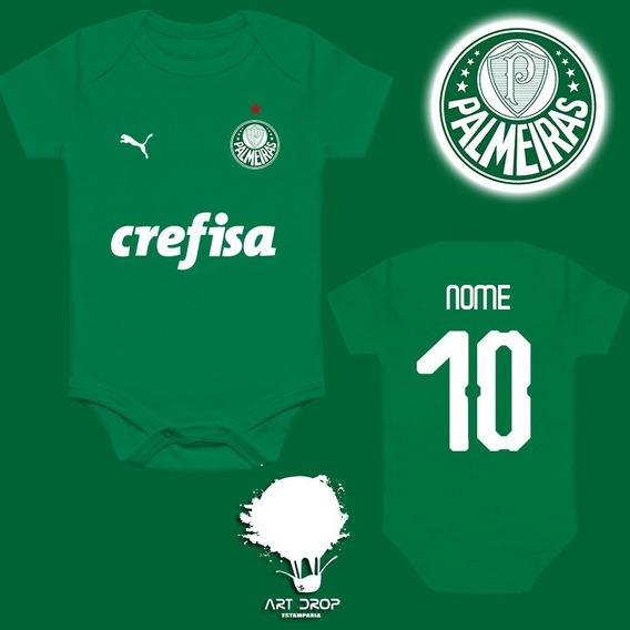 Body Infantil Personalizado Do Palmeiras