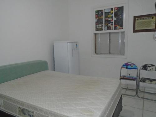 Kitnet Com 1 Dormitório À Venda, 24 M² Por R$ 190.000,00 - Boqueirão - Santos/sp - Kn0152
