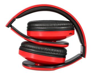 Global Auricular Con Microfono Bluetooth Epebl016rd Mp3 Sd R