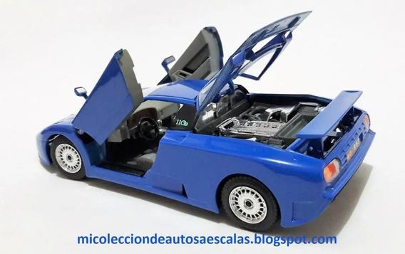 Bugatti Eb 110 1/24 Bburago Burago Die-cast Metal