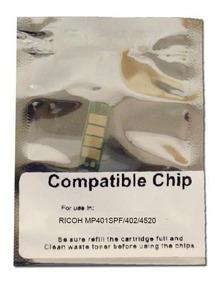 Chip Reset Toner Comp Ricoh Mp401 Mp402spf Sp4520dn