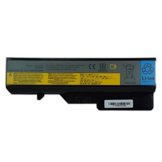 Bateria Para Notebook Lenovo L09c6y02 4400mah Preto