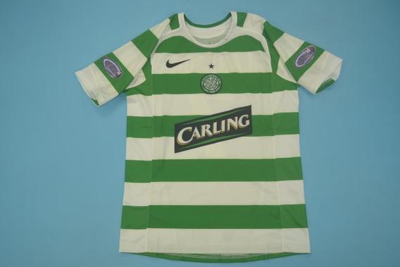 Camisa Celtic 2005-06 Larsson 7