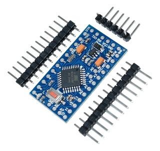 Arduino Mini Pro 5v + 20 Resistencias + 5 Leds