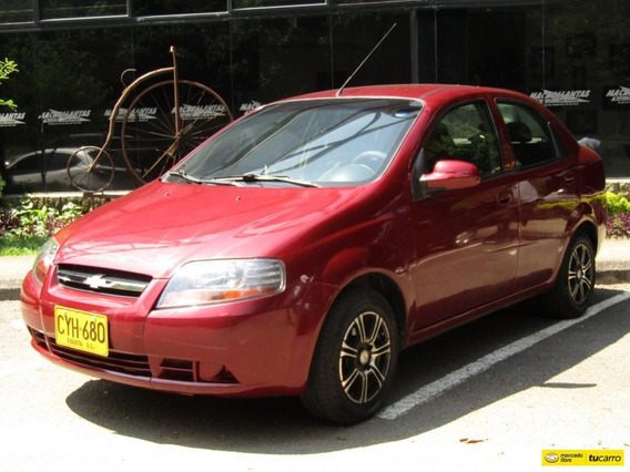 Chevrolet Aveo Sedan 1600 Cc Mt