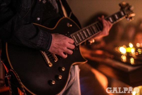 Guitarra Ltd Ec-1000 Vb Deluxe Les Paul Esp Preto Fosco