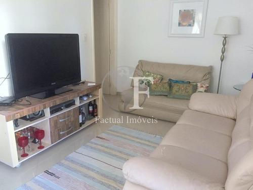 Apartamento Com 2 Dormitórios À Venda, 69 M² - Enseada - Guarujá/sp - Ap10112