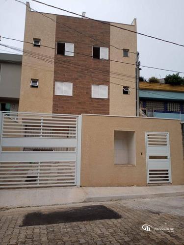 Apartamento Com 2 Dormitórios À Venda, 38 M² Por R$ 210.000,00 - Vila Cecília Maria - Santo André/sp - Ap0646