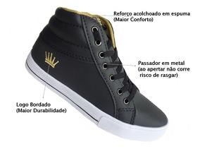 Sapato Infantil Menino Menina Crianças Escola Passeio Cod6