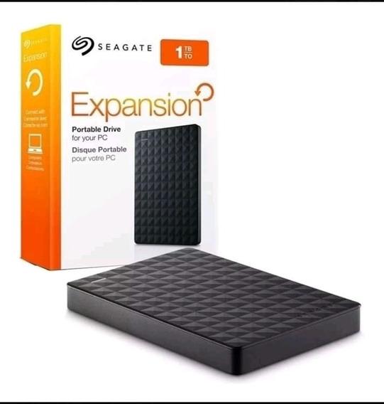 Hd Externo Portátil Seagate Expansion 1tb Usb 3.0 PretoO D