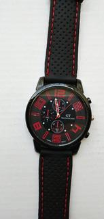 Reloj Deportivo Hombre Silicona Gt Carrera Varios Colores