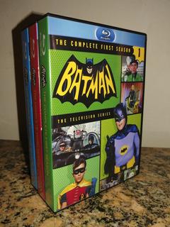 Blu-ray Batman 1966 Serie Completa Adam West Latino