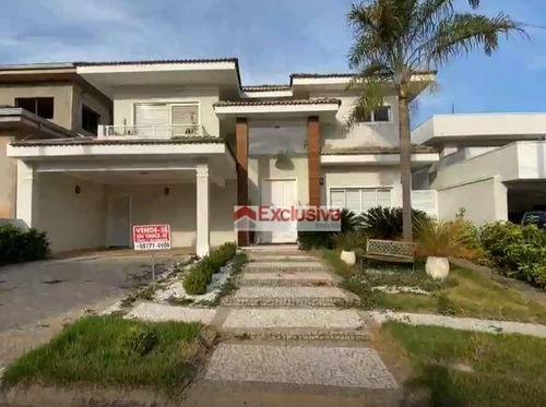 Casa Com 3 Dormitórios À Venda, 381 M² Por R$ 1.950.000,00 - Condomínio Metropolitan Park - Paulínia/sp - Ca1846