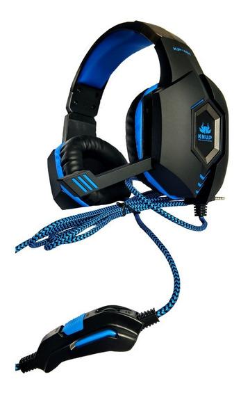 Fone De Ouvido Headset Gamer Ps4 Xbox One Pc Entrada P2 Unic