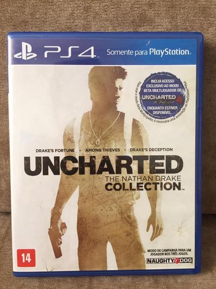 2 Jogos Para Playstation 4 - Uncharted Collection E Horizon Zero Dawn Ps4 Portug/ Semi Novo Mídia Física Ps4 (fotos