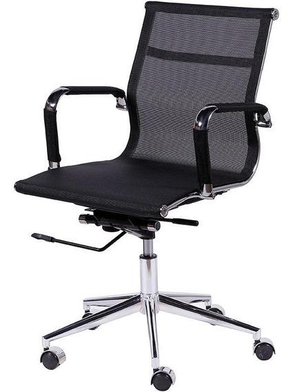 Cadeira Office Eames Tela Baixa Giratória Or-3303 Or Desig