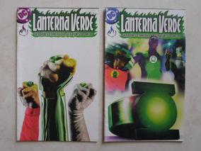 Lanterna Verde Gerações Esmeralda Parte 1 E 2 Editora Mythos